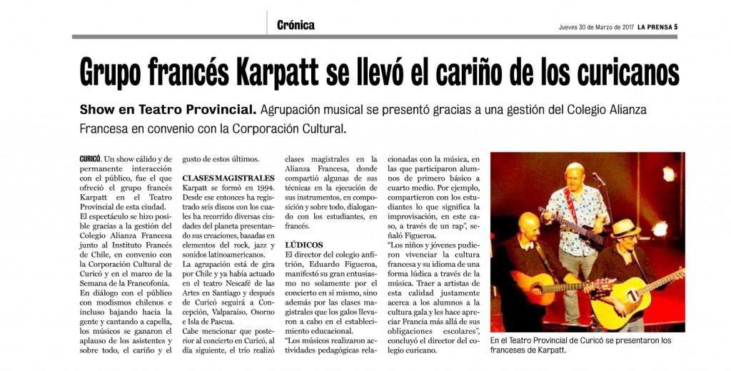 la prensa 30 -03